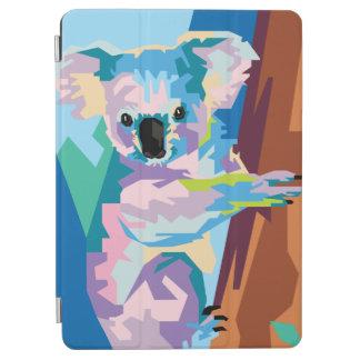 カラフルなポップアートのコアラのポートレート iPad AIR カバー