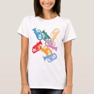 カラフルなユーフォニアム Tシャツ
