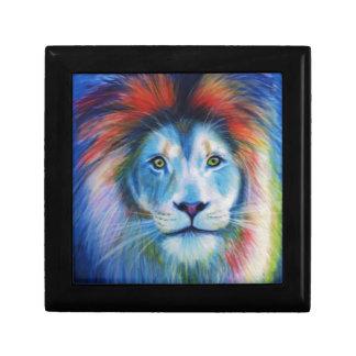 カラフルなライオン ギフトボックス