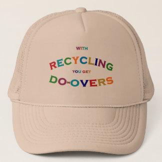 カラフルなリサイクルの余分句の球の帽子 キャップ