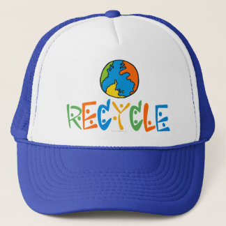 カラフルなリサイクル キャップ