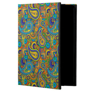 カラフルなレトロの花のヴィンテージのペイズリー2 POWIS iPad AIR 2 ケース