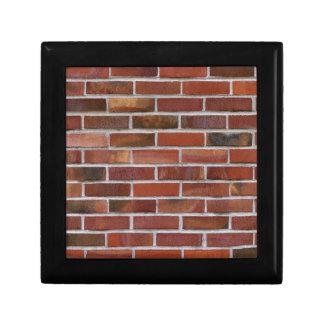 カラフルなレンガ壁 ギフトボックス