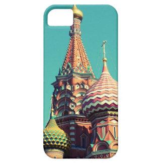 カラフルなロシア iPhone SE/5/5s ケース