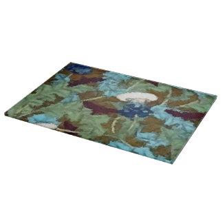 カラフルなヴィンテージのタンポポの抽象芸術 カッティングボード