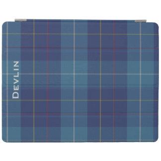 カラフルな一族のMacKerrellのカスタムな格子縞のiPadカバー iPadスマートカバー