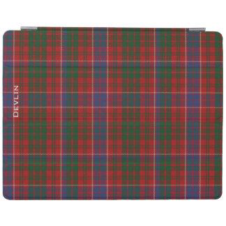 カラフルな一族のMacRaeのカスタムな格子縞のiPadカバー iPadスマートカバー