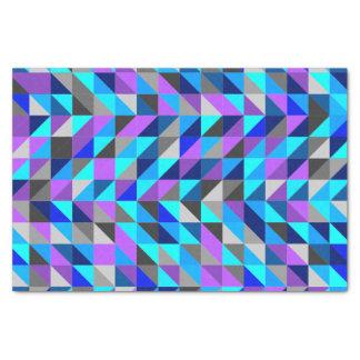 カラフルな三角形パターン 薄葉紙
