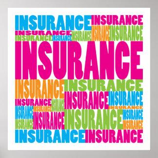 カラフルな保険 ポスター