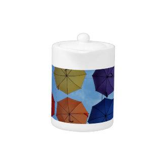 カラフルな傘