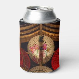 カラフルな傘 缶クーラー