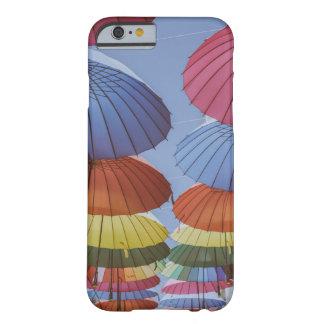 カラフルな傘、iPhone 6/6Sのやっとそこに場合 Barely There iPhone 6 ケース