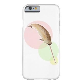 カラフルな円のヴィンテージNarwhal Barely There iPhone 6 ケース