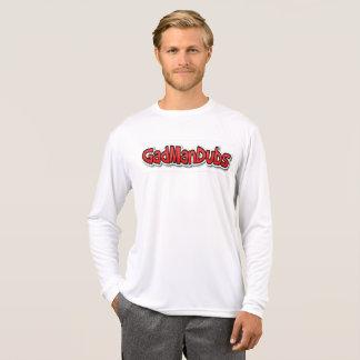 カラフルな及び都市長い袖メンズワイシャツ Tシャツ