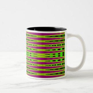 カラフルな地平線 ツートーンマグカップ