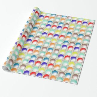 カラフルな大理石の包装紙 ラッピングペーパー