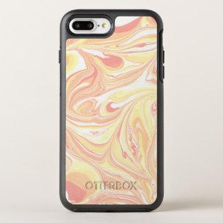 カラフルな大理石パターン オッターボックスシンメトリーiPhone 8 PLUS/7 PLUSケース