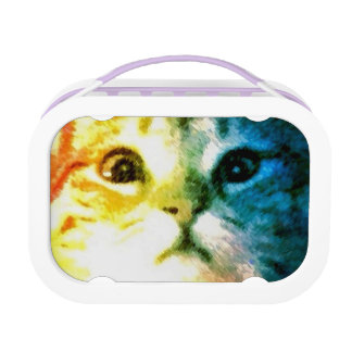 カラフルな子猫 ランチボックス