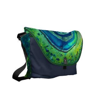 カラフルな宇宙のメッセンジャーバッグ#1 メッセンジャーバッグ