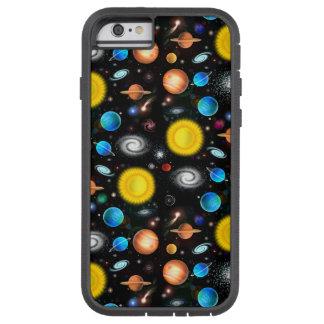 カラフルな宇宙天文学のiPhone 6の堅い場合 Tough Xtreme iPhone 6 ケース