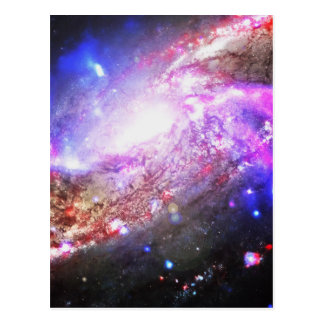 カラフルな宇宙 ポストカード