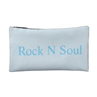 カラフルな小石が付いている化粧品のバッグ コスメティックバッグ