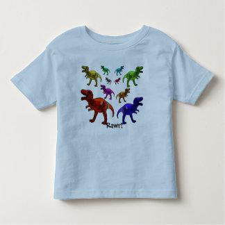 カラフルな恐竜Rawr! Tシャツ