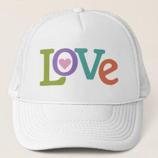 カラフルな愛トラック運転手の帽子 キャップ