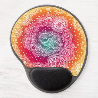 カラフルな抽象美術のゲルのマウスパッド ジェルマウスパッド