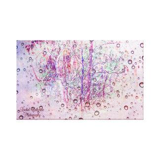カラフルな抽象美術の部分 キャンバスプリント