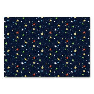 カラフルな星明かりの空 カード