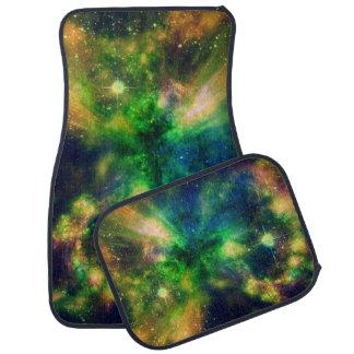 カラフルな星雲 カーマット