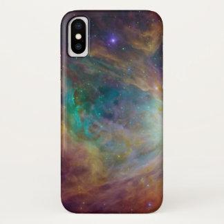 カラフルな星雲 iPhone X ケース