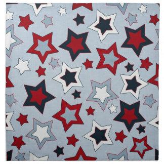 カラフルな星 ナプキンクロス