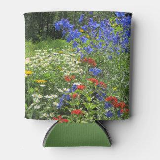 カラフルな春の庭! Larkspurの青 缶クーラー