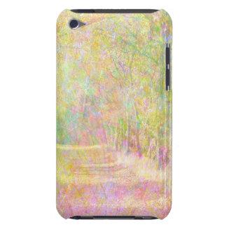 カラフルな春の木道 Case-Mate iPod TOUCH ケース