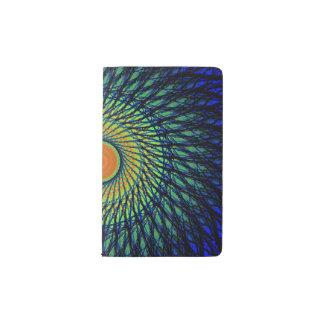 カラフルな曼荼羅 ポケットMoleskineノートブック