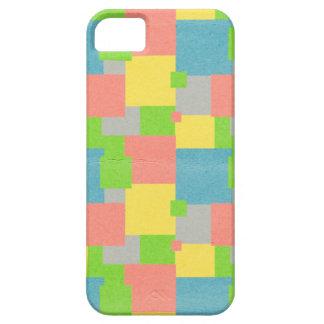 カラフルな正方形 iPhone SE/5/5s ケース