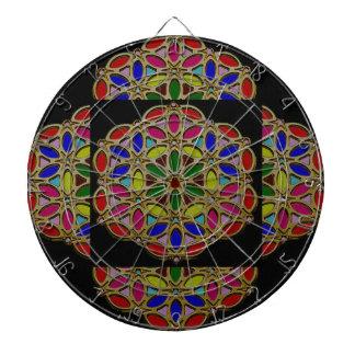 カラフルな民族のネックレスのギフトのPendent宝石の芸術 ダーツボード