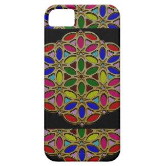 カラフルな民族のネックレスのギフトのPendent宝石の芸術 iPhone SE/5/5s ケース