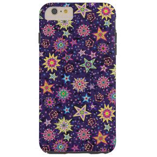 カラフルな民芸の星明かりの空 TOUGH iPhone 6 PLUS ケース