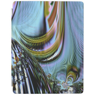 カラフルな水晶フラクタル iPadスマートカバー