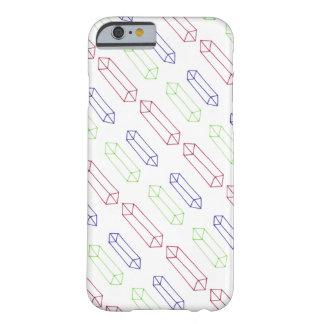 カラフルな水晶 BARELY THERE iPhone 6 ケース