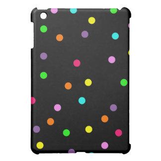 カラフルな水玉模様 iPad MINIケース