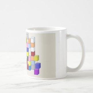 カラフルな煉瓦 コーヒーマグカップ
