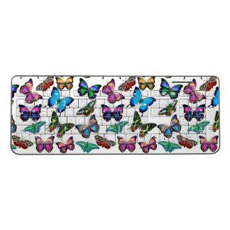 カラフルな熱帯蝶無線電信のキーボード ワイヤレスキーボード