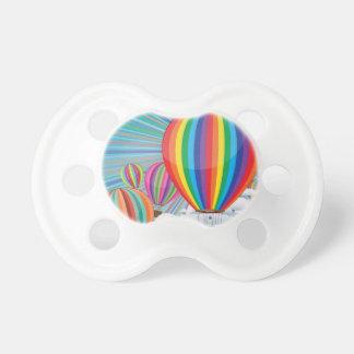 カラフルな熱気の気球2 おしゃぶり