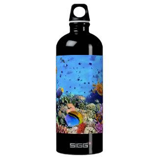 カラフルな珊瑚礁の生き物 ウォーターボトル