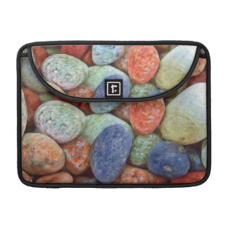 カラフルな石 MacBook PROスリーブ