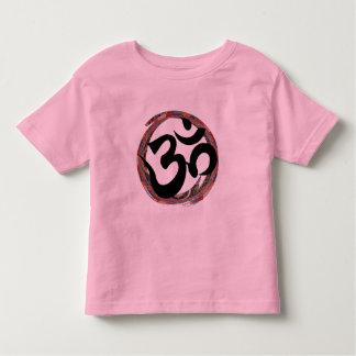 カラフルな禅のオーム トドラーTシャツ